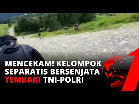 TNI-Polri Baku Tembak Dengan Kelompok Separatis Bersenjata di Ilaga Papua | tvOne