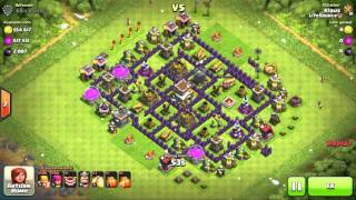"How To Farm Walls as a TH8 - ""Farming is not dead!"" Clash of Clans guide"