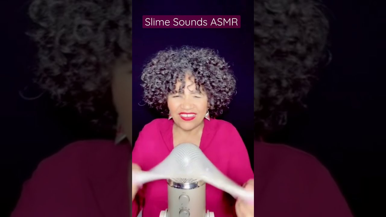 ᛋ Great Slime Sounds ASMR by Mxrcedxs ~ Time to Relax and Enjoy. #corto #short