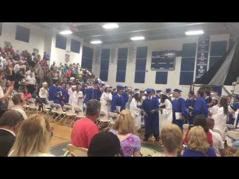 North Caroline High School Graduation 2016 Ridgely, Md