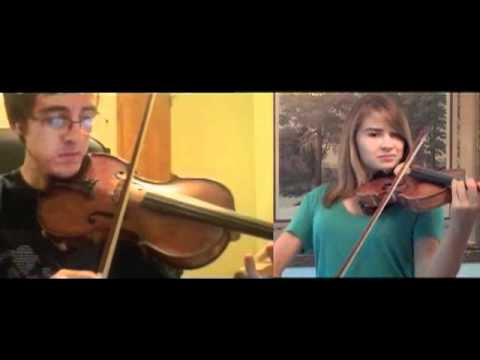 A Whole New World Violin  Duet with JTehAnonymous