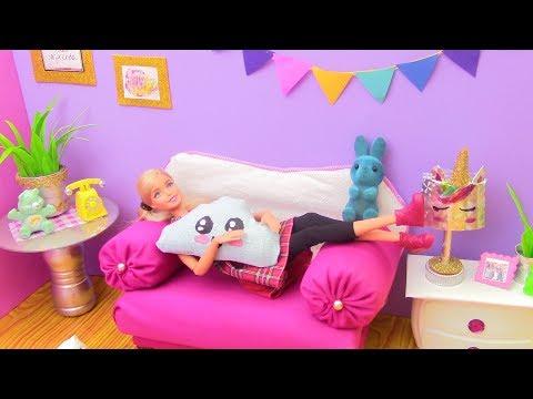 DIY - How to Make: Dollhouse - Living Room / How To Make Miniature Living Room