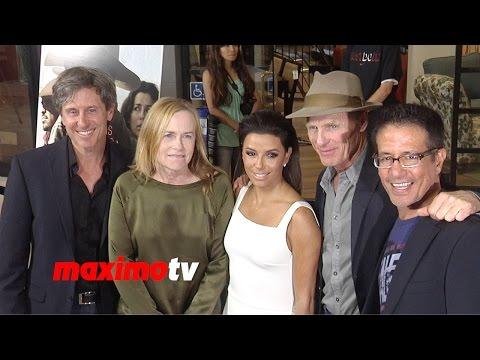 Eva Longoria, Ed Harris FRONTERA Los Angeles Premiere ARRIVALS