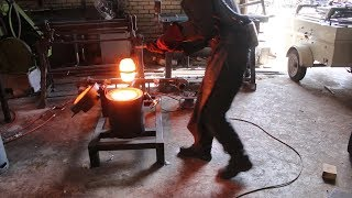 Experimenting with crucible steel, part 2.