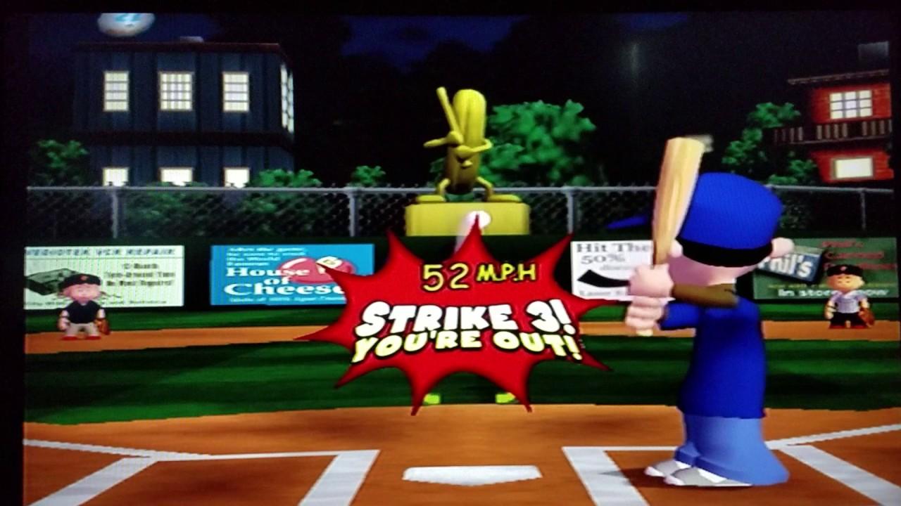 Backyard Baseball: World Series Game 2 - YouTube