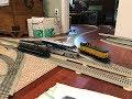 Track Testing MTH O Scale EMD Diesels (B&O GP9, C&NW NW2, Amtrak F59PHI) 11/17/18