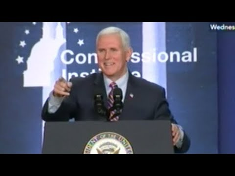 Mike Pence Speech To Congressional Republicans At Annual GOP Retreat