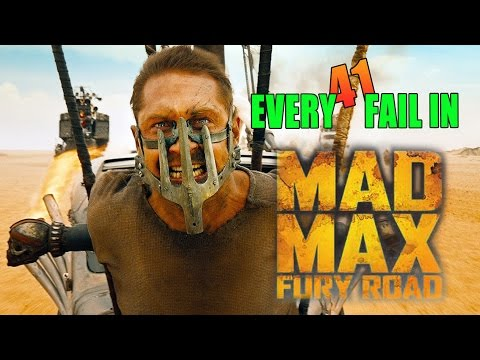 Every Fail In Mad Max Fury Road | Everything Wrong With Fury Road, Mistakes and Goofs