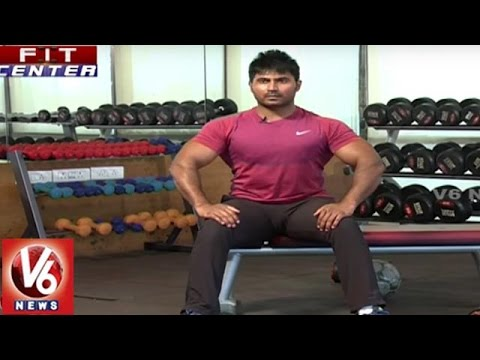 Fit Center | Trainer Venkat Fitness Tips | Exercises For Type 2 Obesity | V6 News