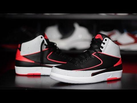 Air Jordan 2 Infrared Cement Retro II