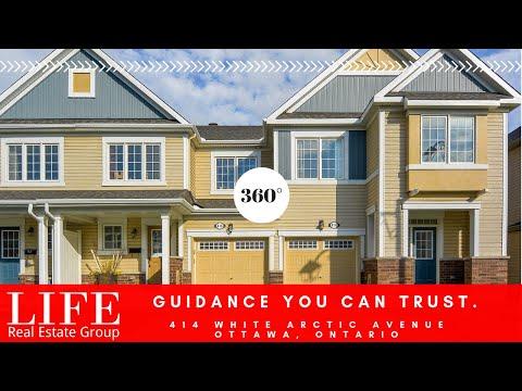 #360VR Virtual Tour Real Estate Listings Townhouse Ottawa Canada