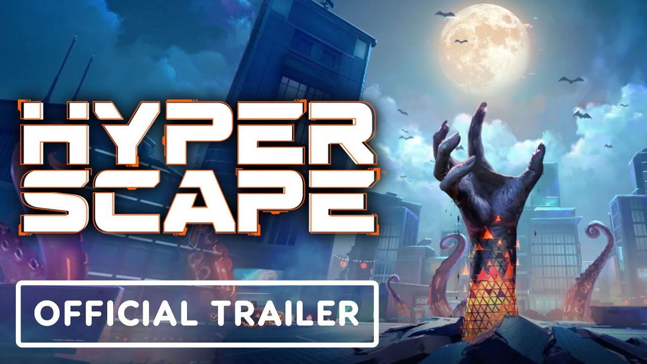 Hyper Scape - Official Halloween Event Trailer - IGN