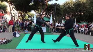 Ninjutsu - dimostrazione scuola Bujinkan Roma