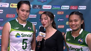 Match MVPs: Ging Balse Pabayo and Alina Joyce Bicar | PSL Invitational 2018