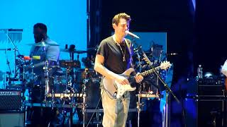 John Mayer - Changing (with great Guitar Solo outro) - Live at State Farm Arena on 2019-08-11