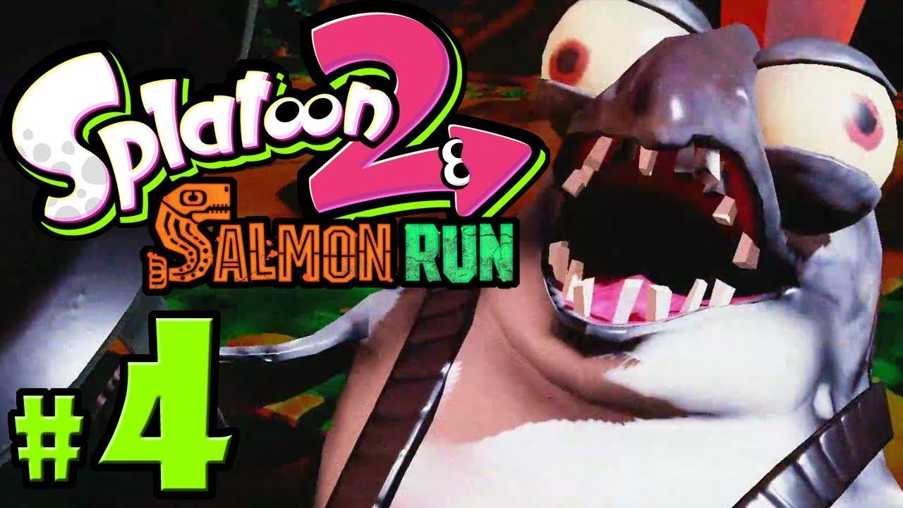 splatoon 2 salmon run how to get rewards