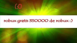 hak 2018 de roblox 350000 de robux
