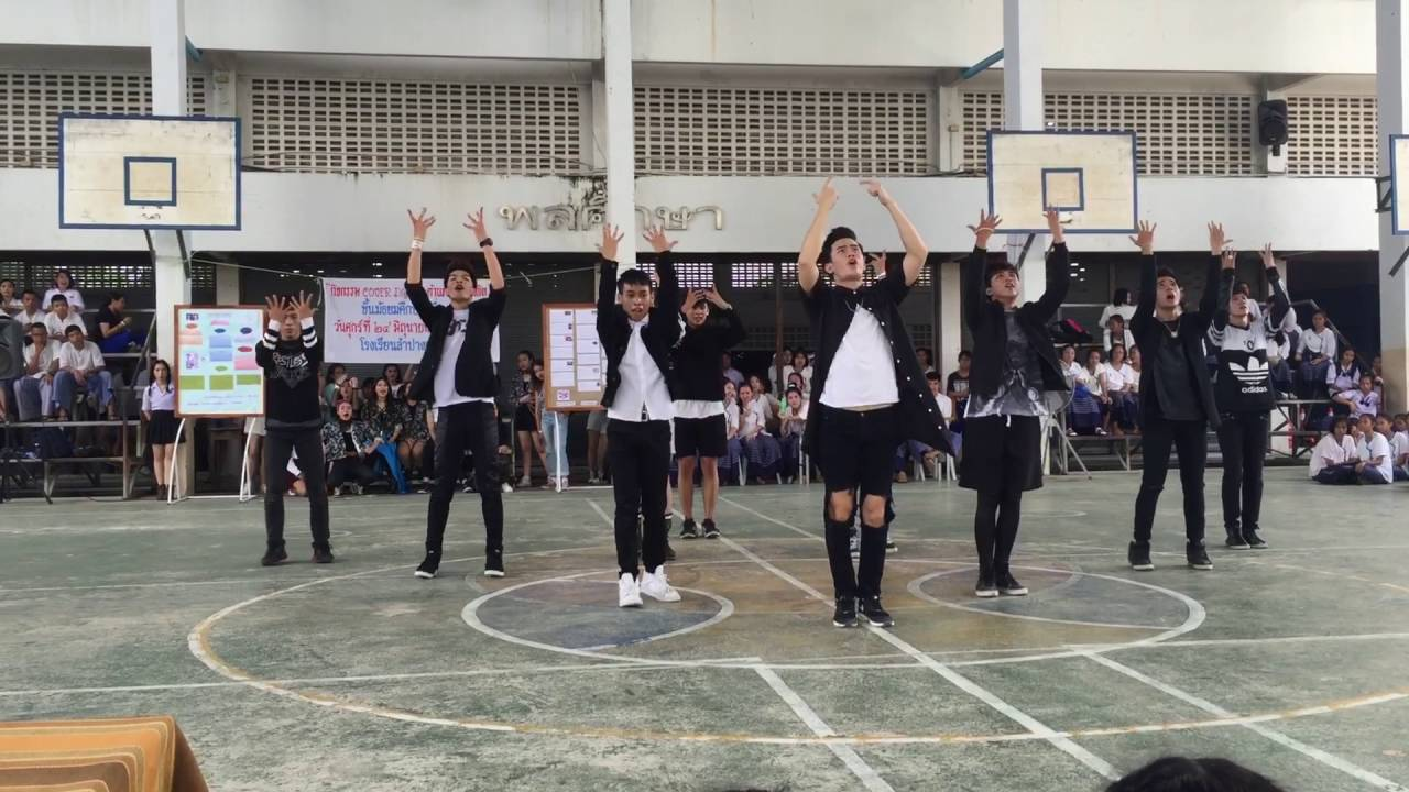 Download Ambition cover Got7 and Bts - Fly + Fire + 102030 + หนุ่มฟ้อ @Lampang Kanlayanee School 24/06/2016