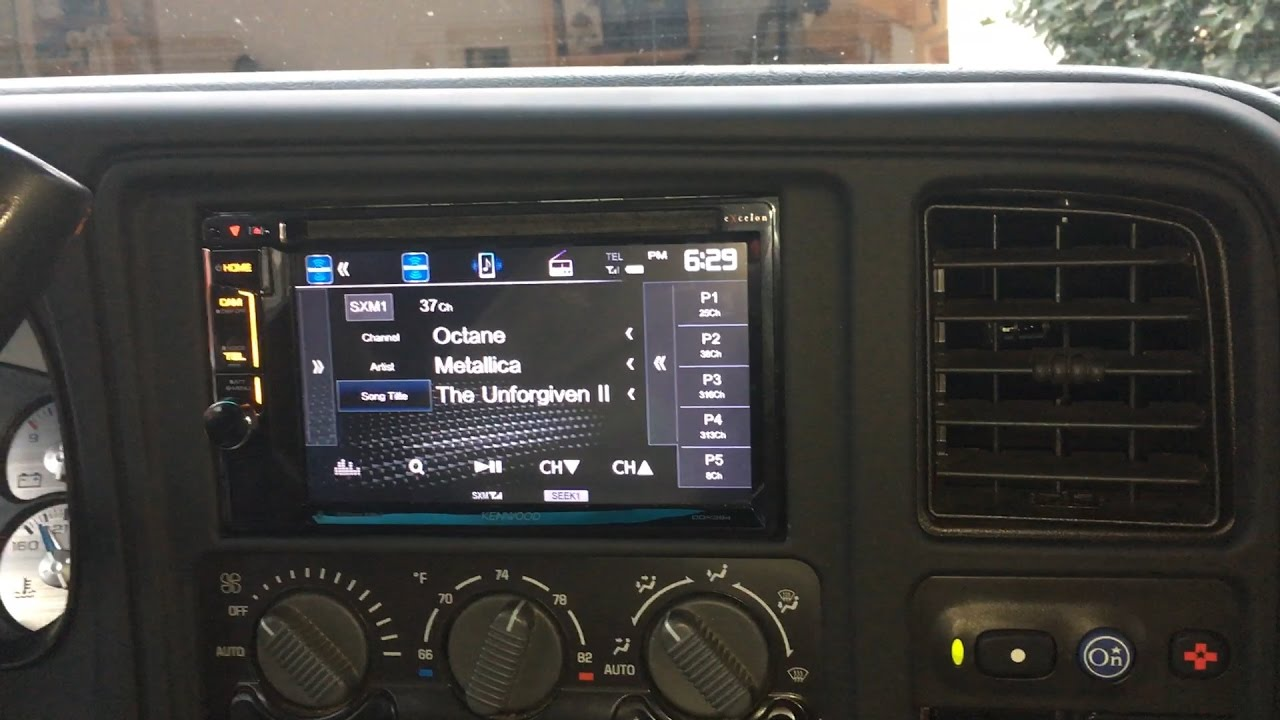 hight resolution of installing wiring a double din stereo head unit 2002 chevy tahoe