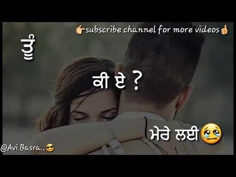 Kinna Pyar || Balraj || Very  💕sweet💟touching Song|| Punjabi Whatsapp Status Video