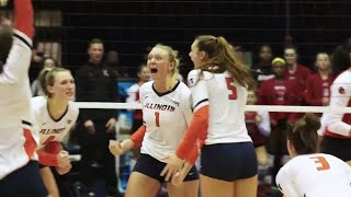 Illini Volleyball | Regional Semifinal Hype