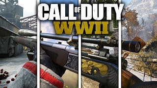 Every SPRINGFIELD (M1903) VARIANT In COD: WW2! (ALL HEROIC AND EPIC VARIANTS) #DooMRC