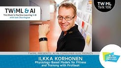 Ilkka Korhonen Interview - Physiology-Based Models for Fitness and Training w/ Firstbeat