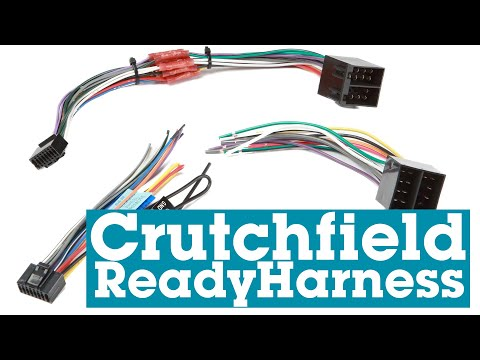 The Crutchfield ReadyHarness Pre-wired Harness For Car Stereos | Crutchfield
