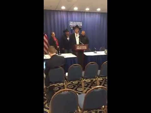 Part 1 of Cheyenne River Sioux Tribe DAPL Press Conference 2-15-2017