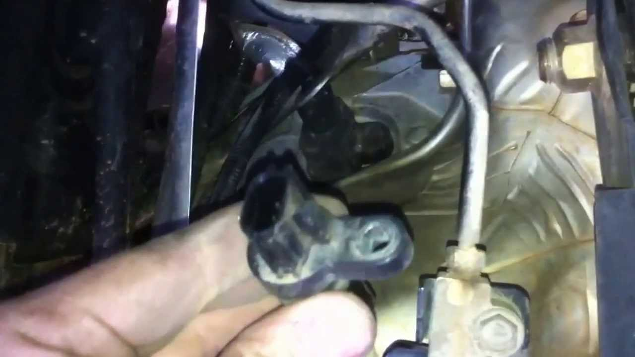 hight resolution of 2005 2012 xterra frontier pathfinder crankshaft position sensor replacement youtube