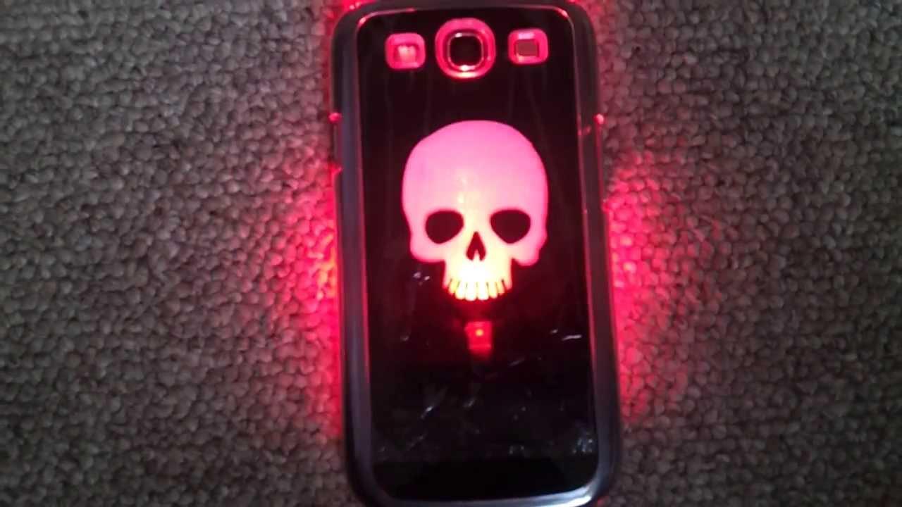 Capa de Celular para Samsung Galaxy S3 com luzes - YouTube
