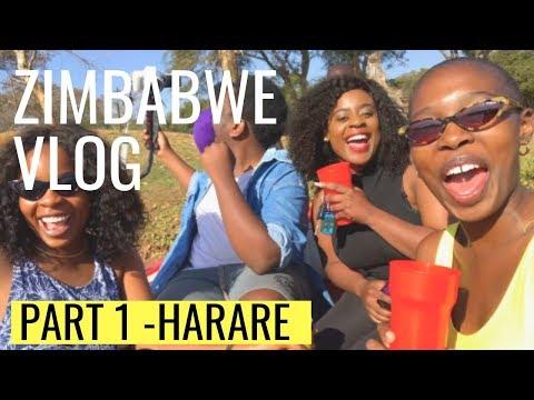 Vlog Zimbabwe Part 1 - Harare    TRAVEL