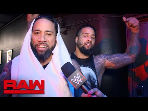 The Usos are ready to run through the Raw Tag Team division: Raw Exclusive, April 15, 2019