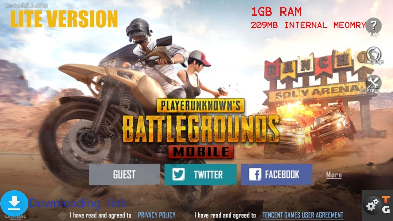 Install PUBG Mobile Lite For Budget Phones With Less RAM