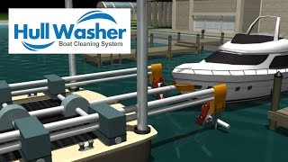 Boat Hull Washer - System and Invention