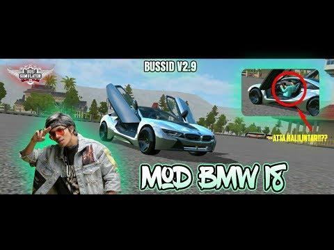 Grebek Mobil Atta Halilintar Di Game Bussid V2 9 Mod Bmw I8