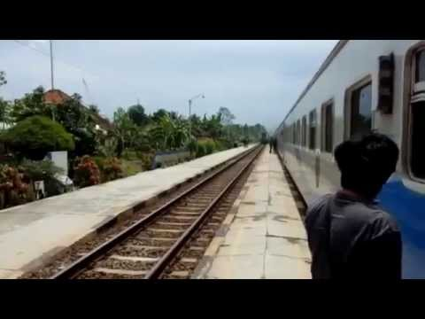 Indonesia Travel Documentary  Train Journey Across Indonesia, Beautiful Scenery in Jakarta