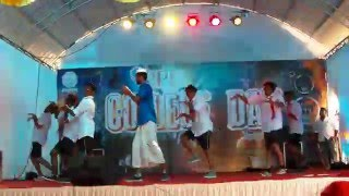 funniest dance ever in college day bpc college day 2016