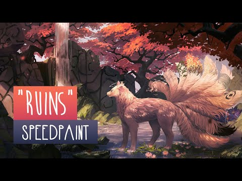 Ruins | SPEEDPAINT | Photoshop CC