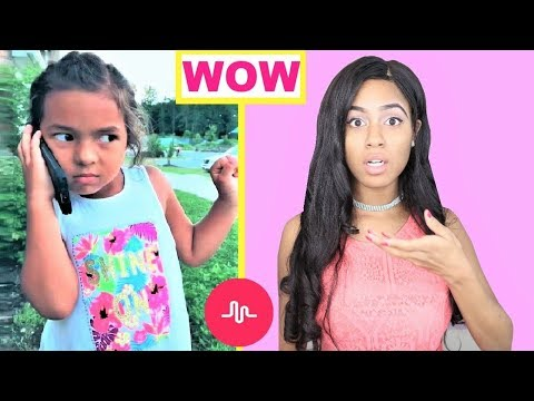 REACTING TO MY KID SUBSCRIBERS MUSICAL.LY VIDEOS