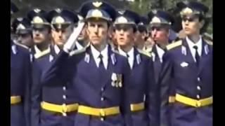 Торжественный марш выпускников Харьковского ВВАУС