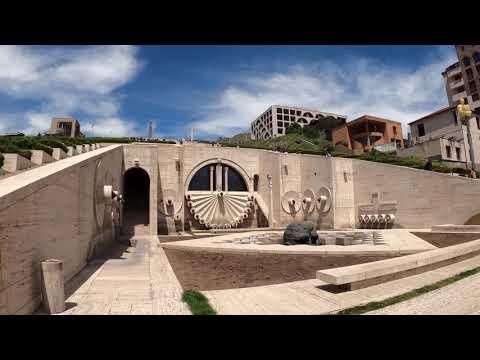 Cascade Yerevan Armenia || Walking 4K