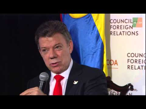 Colombia's Future: A Conversation with Juan Manuel Santos