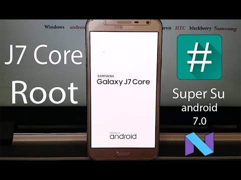 How to Root/ Install TWRP recovery on Samsung Galaxy J7 Core (android 7 0)