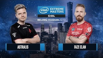 CS:GO - Astralis vs. FaZe Clan [Dust2] Map 1 - Semifinals - IEM Beijing-Haidian 2019