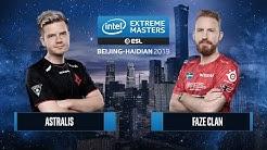 CS:GO - Astralis vs. FaZe Clan [Dust2] Map 1 - Semifinals - IEM Beijing-Haidian 2019