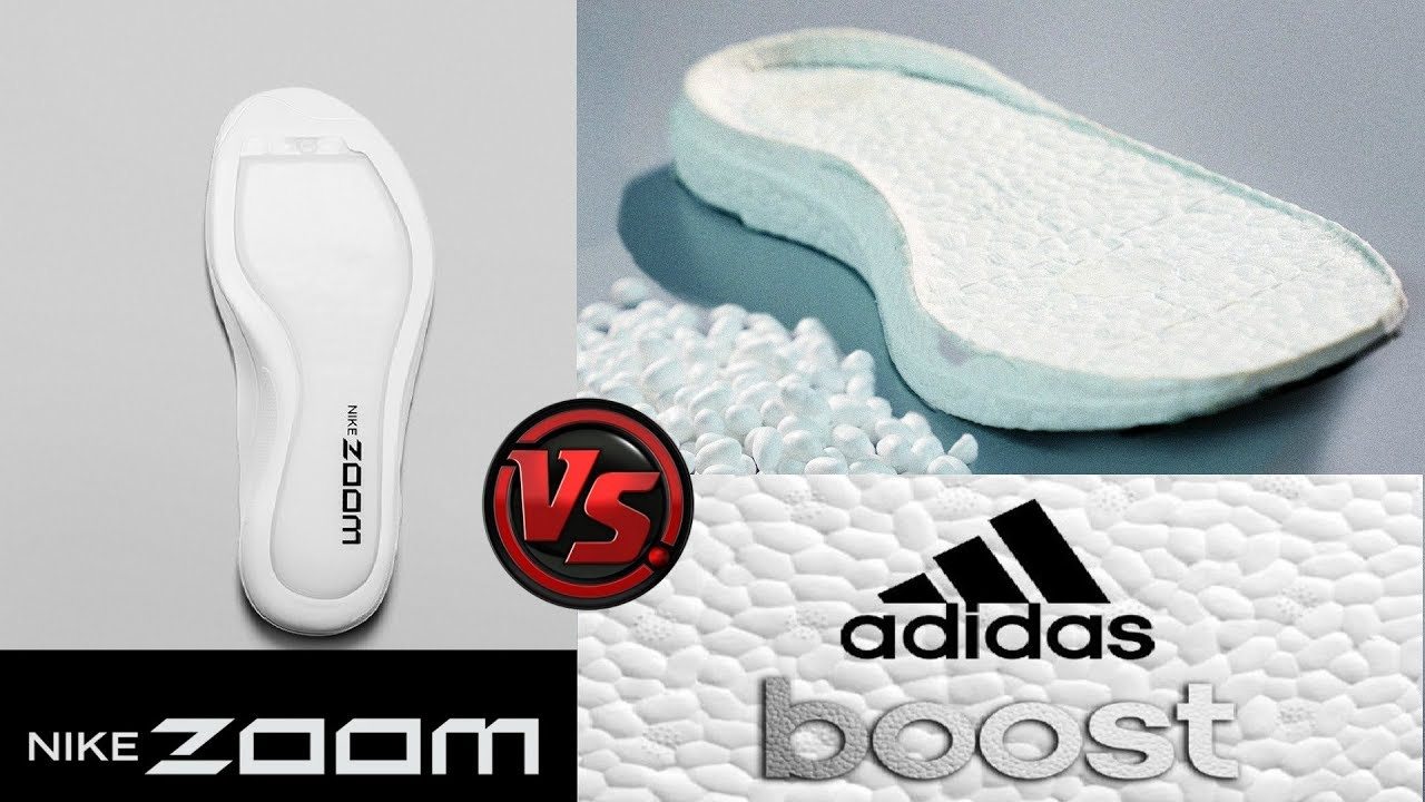 Distribuir Ajustamiento Anémona de mar  Nike ZOOM AIR or ADIDAS BOOST?! Which Is Better? - YouTube