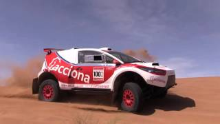 ACCIONA 100% EcoPowered returns to the Dakar