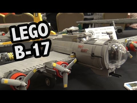 LEGO WWII B-17 Flying Fortress | World War Brick 2017