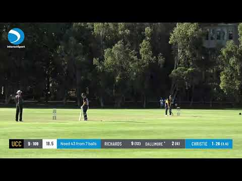 WACA Premier T20 Round 1 - University Cricket Club V Midland-Guildford